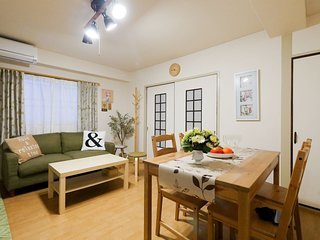 Central 2BR 5min to Namba NSG64