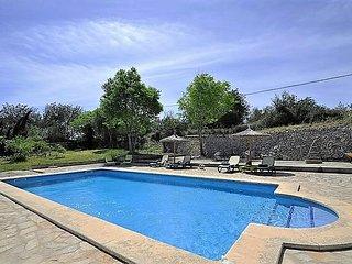SA TANCA DE CAN VICENS- Lovely Rustic Villa with pool in Sencelles. Sat TV. Clea
