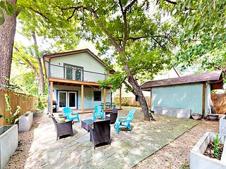 Colorful SoFi House, 1 Block from S. 1st with Outdoor Living Room