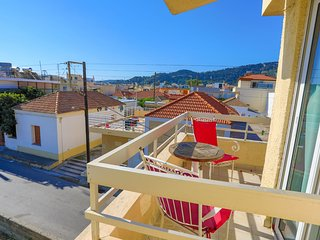Jasmin: Lovely studio in Ialysos, A/C, WiFi, walking distance