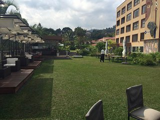 Explore Bujumbura and relax by the pool at the Eka hotel