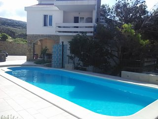 Spacious apartment in the center of Pag with Parking, Internet, Air conditioning