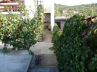 Cozy apartment in the center of Tisno with Parking, Air conditioning, Balcony, G