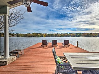 NEW! Hot Springs Peninsula House on Lake Hamilton!