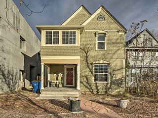 NEW-Downtown Colorado Springs Townhome w/Roof Deck