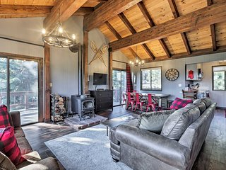 NEW! Truckee Cabin w/Game Room Near Lake & Skiing!