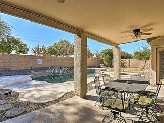 NEW! Dog-Friendly Gilbert Home w/ Pool & Patio!