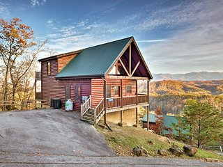 NEW! Sevierville Home w/ Hot Tub, Grill & Theater!