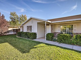 NEW! LaVerkin Home w/ Large Yard - 20 Mi to Zion!