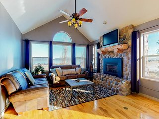 NEW LISTING! Gorgeous Bear Lake home w/private hot tub & panorama view