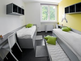 Cozy room in the center of Brezice with Parking, Internet