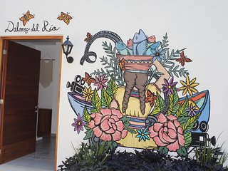 Ajijic Downtown 2 Bedroom House near the lake