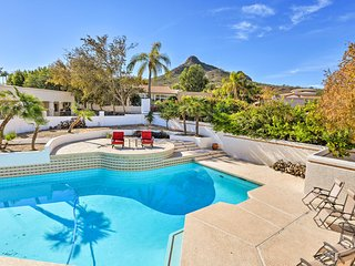 NEW!-Luxe Phoenix Home w/Pool -Walk to Lookout Mtn