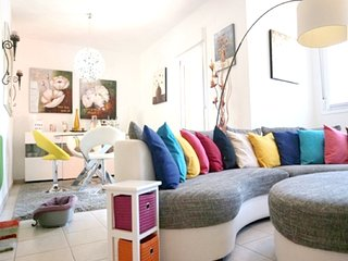 Spacious apartment in El Verger with Parking, Internet, Washing machine, Air con