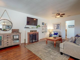 NEW LISTING! Airy home w/ private hot tub, free WiFi & grill - close to beach