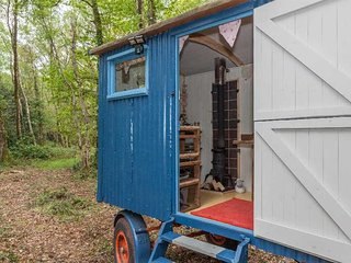 Purbeck Woodland Shepherds Hut with breakfast