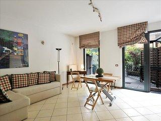 Salutati apartment in Navigli with WiFi, air conditioning & private terrace.