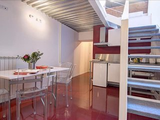 Giambellino Duplex I apartment in Navigli with WiFi & air conditioning.
