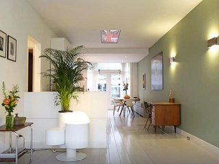 Spacious and comfortable apartment with small garden
