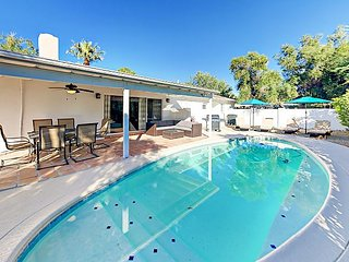Quiet Home w/ Pool Table & Heated Pool - Steps to Old Town & Fashion Square