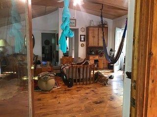 Private cabin with sauna