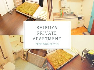 STAY and EXPLORE in Shibuya FREE Pocket WIFI