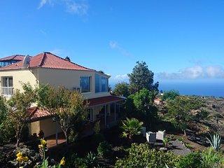 Finca Paraiso Abajo - La Palma,  luxe vakantiewoning met panoramisch zeezicht