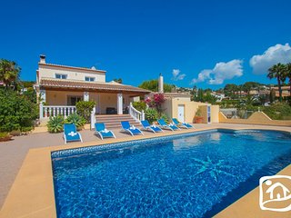 5 bedroom Villa in Moraira, Valencia, Spain : ref 5401465