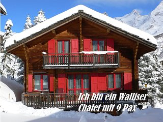 Riti *** ich bin ein nettes Walliser Chalet 9 Pax