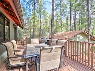 NEW! Secluded Cabin in Tonto Nat'l Forest w/ Deck!