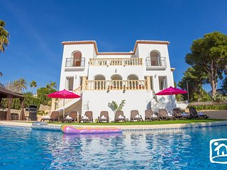 5 bedroom Villa in Moraira, Valencia, Spain : ref 5401576