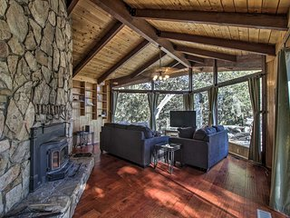 NEW! Cozy Cabin in Natl Forest - Mins to Idyllwild