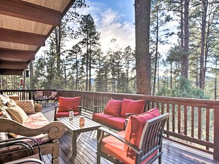 Massive 7-Acre Ruidoso Home w/ Sierra Blanca Views