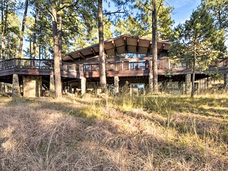 7-Acre Ruidoso Home w/Mtn View by Ski Apache!