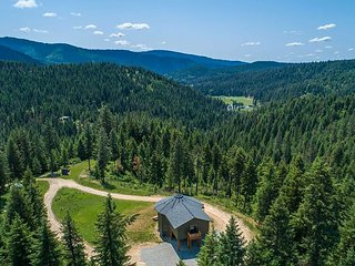 NEW! Coeur d'Alene 40 Acre Nature Retreat w/Views!