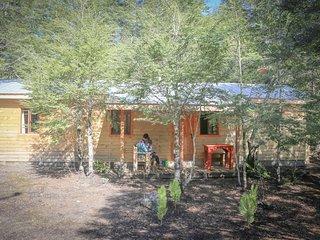 Cabaña equipada para 5 personas,  a 4 km. del Parque Nacional Conguillio