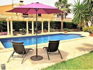 VILLA CALA. Villa in Sa Torre near golf,  Private Swimming Pool. - Free Wifi