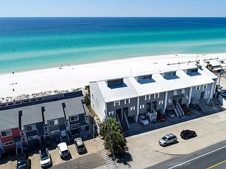 Newly renovated town home that sits directly on the beach!