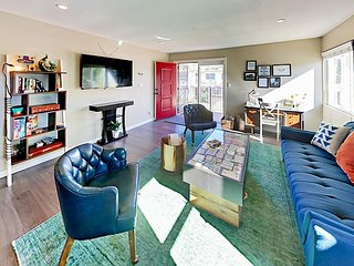 2BR w/ Chic Southwest Style - 2nd-Story Condo w/ Pool & Grill, Walk to Dining