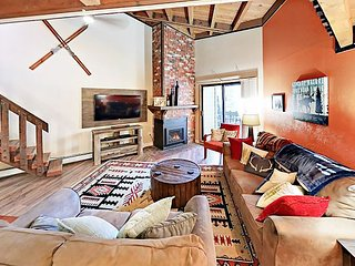 Ski-Centric 2BR + Loft Condo w/ State-of-the-Art Clubhouse
