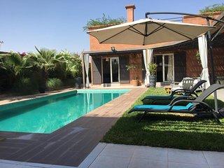 Villa Cactus, villa de luxe avec piscine chauffee