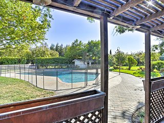 NEW! 10-Acre Chico Home w/Pool - Great for Events!