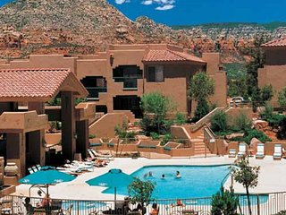 STUDIO~ SEDONA SUMMIT~ SLEEPS 4~ KITCHEN~ BALCONY~ POOLS~ HOT TUBS~ GREAT VIEWS~