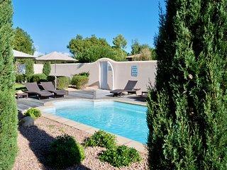 Villa Rossa 3, 3 chambres 3 sdb, clim, plage Cala Rossa a pied, piscine chauffee