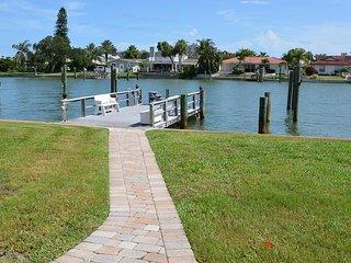 NEW LISTING! Waterfront home on Intracoastal Waterway w/dock - walk to beach