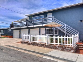 NEW LISTING! Lower-level duplex w/patio & private hot tub, 1 block from beach