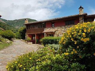 Casa rural con hidromasaje y chimenea El Grillo