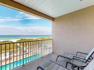NEW LISTING! Dog-friendly, beachfront condo w/shared pool & hot tub
