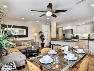 NEW LISTING! Bright condo with new kitchen, near the sand, walk to the beach!