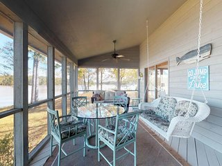 NEW LISTING! Dog-friendly and lakefront home with a floating dock!